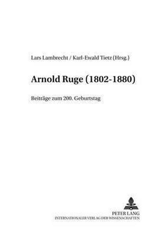 Arnold Ruge (1802-1880)