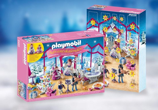 PLAYMOBIL Adventskalender - Kerstfeest in het kristallen salon - 9485