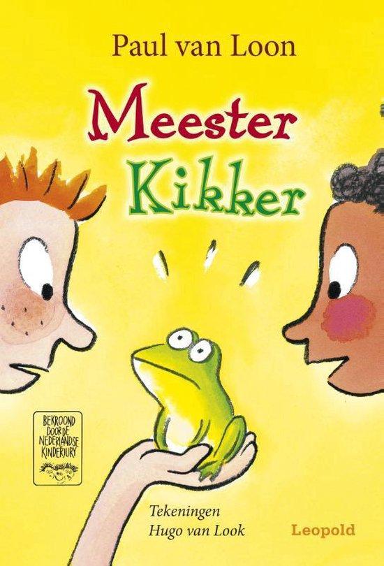 Boek cover Meester Kikker van Paul van Loon