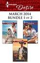 Harlequin Desire March 2014 - Bundle 1 of 2
