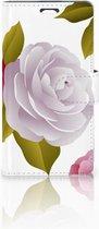 Telefoonhoesje LG Magna | G4C Book Case Hoesje Roses