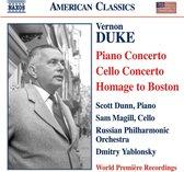 Duke: Piano Conc./Cello Conc.