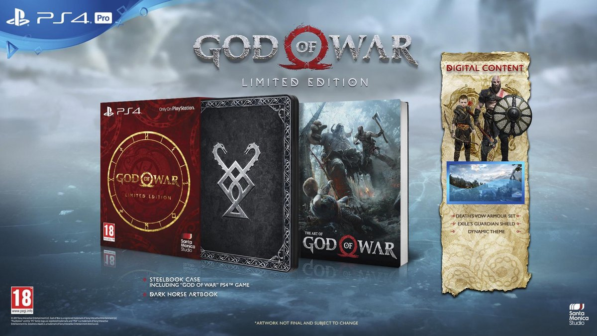 God of War - Limited Edition - PS4 - Sony