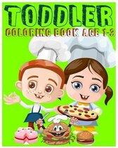 Toddler Coloring Book Age 1-3: Super Coloring Book (Jumbo Coloring Book)