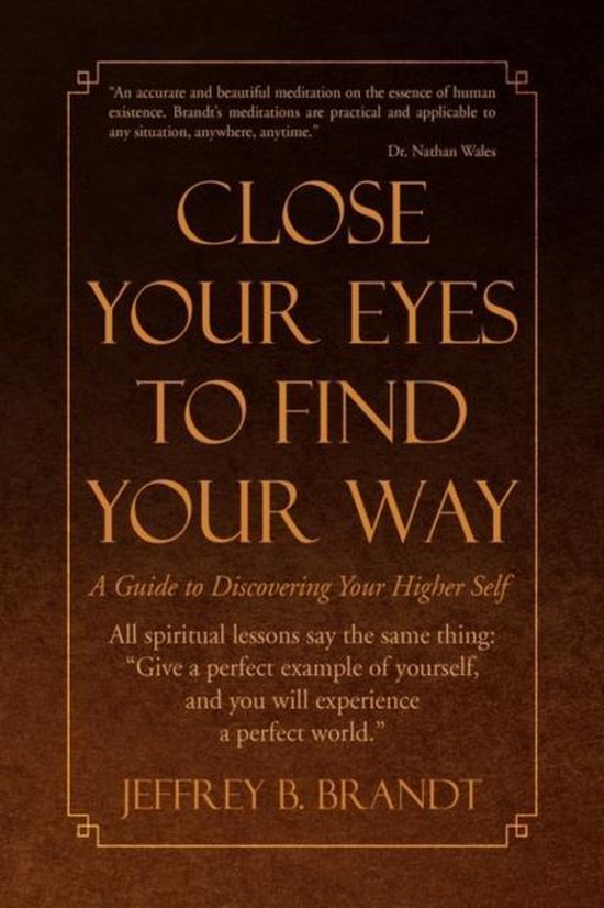 Close Your Eyes to Find Your Way