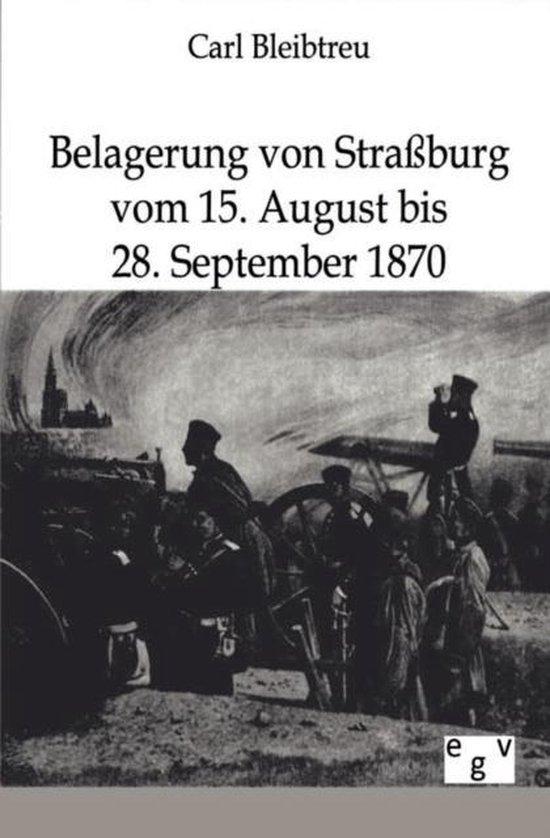 Belagerung Von Stra burg