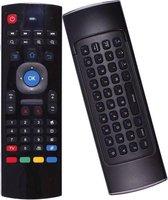 MX3 Air Mouse - Draadloos USB toetsenbord voor Android Tv Box - Zwart