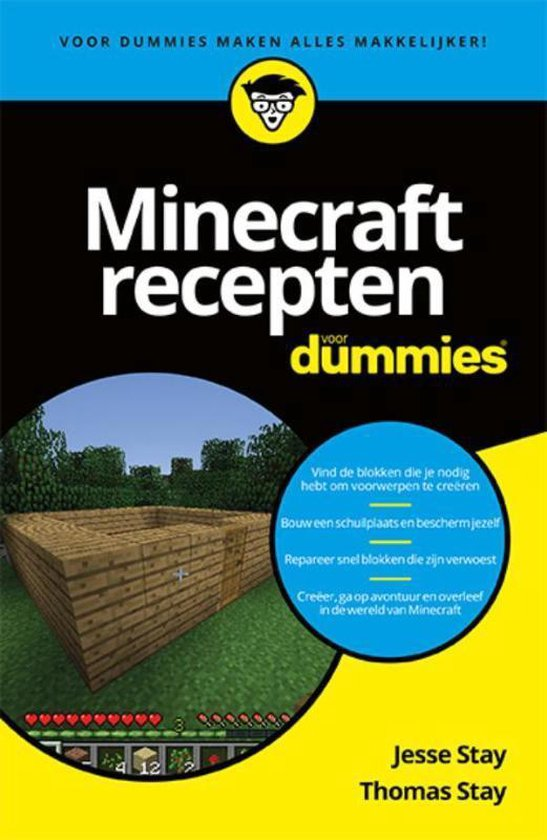 Voor Dummies - Minecraft recepten voor dummies - Jesse Stay |