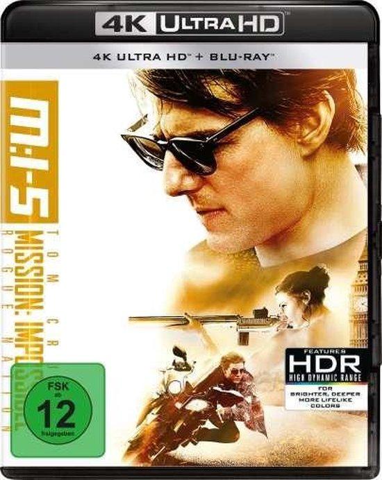 Mission: Impossible 5 - Rogue Nation (Ultra HD Blu-ray & Blu-ray)