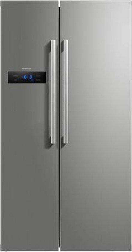 Koelkast: Inventum SKV1780R - Amerikaanse koelkast, van het merk Inventum