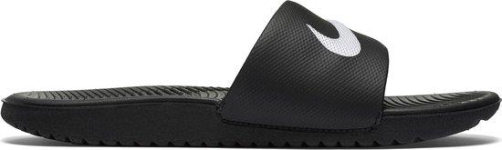 Nike Kawa Slide (Gs/Ps) Slippers Kinderen - Zwart