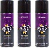 3x Crep Protect 200ml Spray Voordeelverpakking: Vuil- en waterwerend