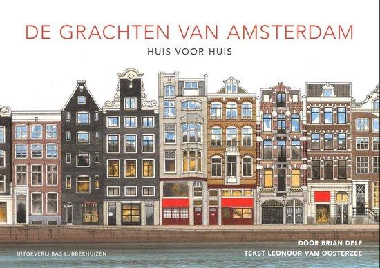Boek cover De grachten van Amsterdam van Brian Delf (Hardcover)