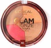 LÓréal Paris Glam Bronze La Terra Healthy Glow Powder - 02 Medium Speranza