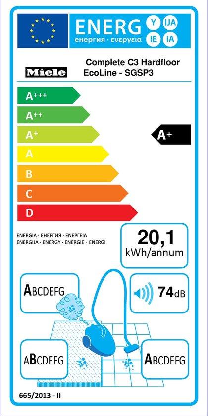 Miele Complete C3 Hardfloor EcoLine SGSP3 Sledestofzuigers