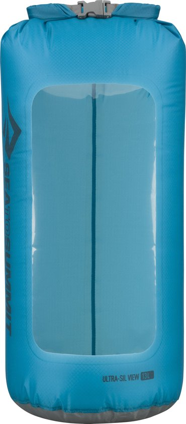 Sea to Summit Ultra-Sil View Dry Sack Drybags - 13L - Blauw - Waterdichte zak