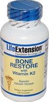 Bone Restore met vitamine K2 (120 Capsules) - Life Extension