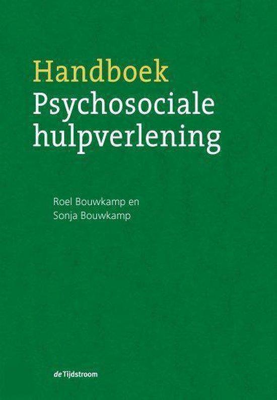Handboek psychosociale hulpverlening