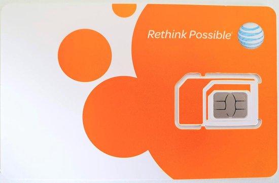AT&T USA/Canada/Mexico - Unlimited Prepaid Sim