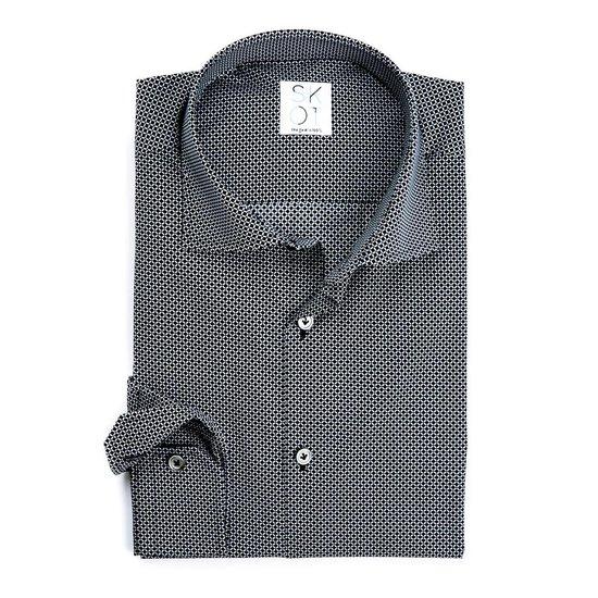 Skot Fashion Overhemd Duurzaam Heren Serious Dark - Zwart
