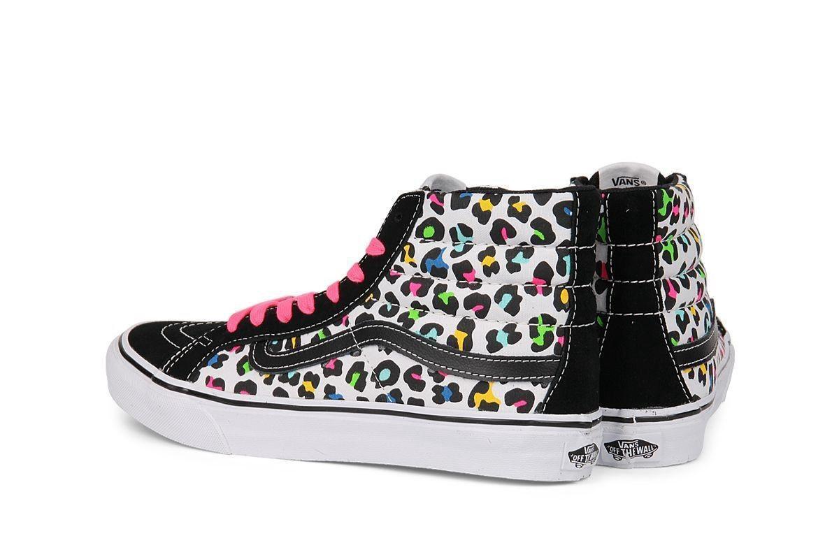 Vans - Dames Sneakers Sk8 Hi Slim - Multi - Maat 40 1/2 Sneakers