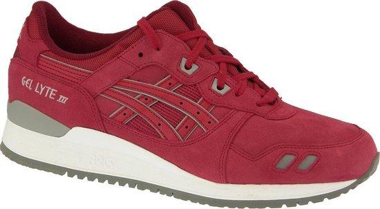 Asics Gel Lyte III rood sneakers dames