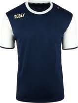 Robey Shirt Icon - Voetbalshirt - Navy/White Sleeve - Maat XL