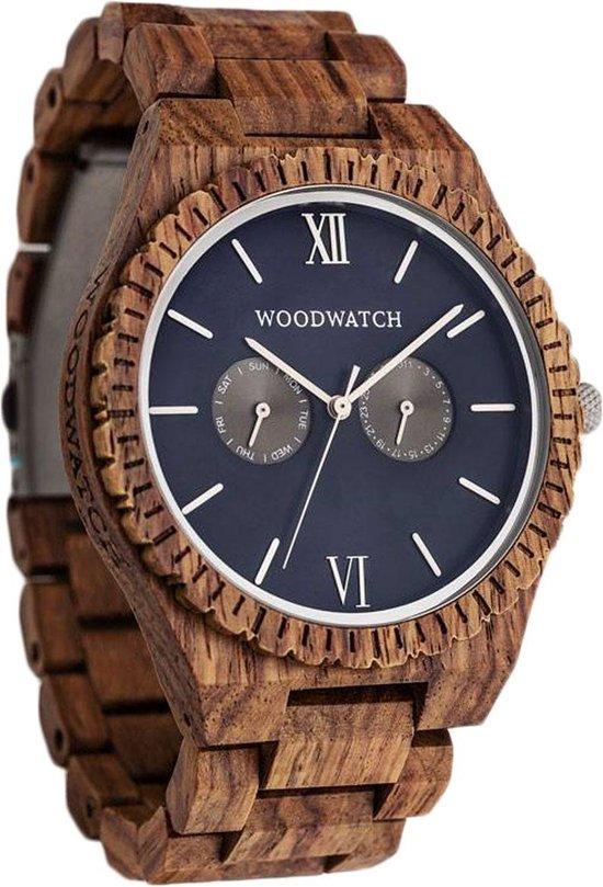 WoodWatch Ocean Blue