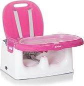 Baninni Yami Luxe Stoelverhoger - Booster Seat met eetblad - Pink