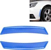 2 stks auto-styling wiel wenkbrauw decoratieve sticker decoratieve strip (blauw)