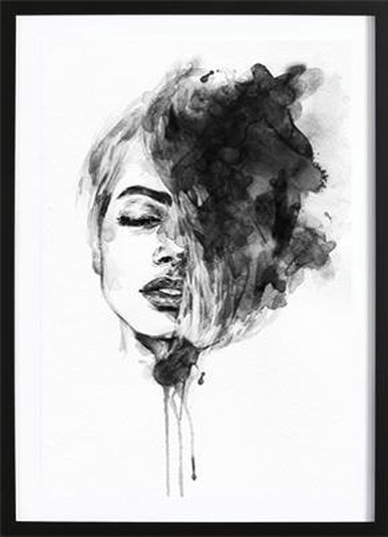 Blow My Mind Poster (70x100cm) - Fashion - Poster - Print - Wallified