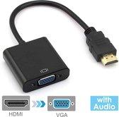 HDMI 2.0 naar VGA (D-Sub) female - 0.1 m