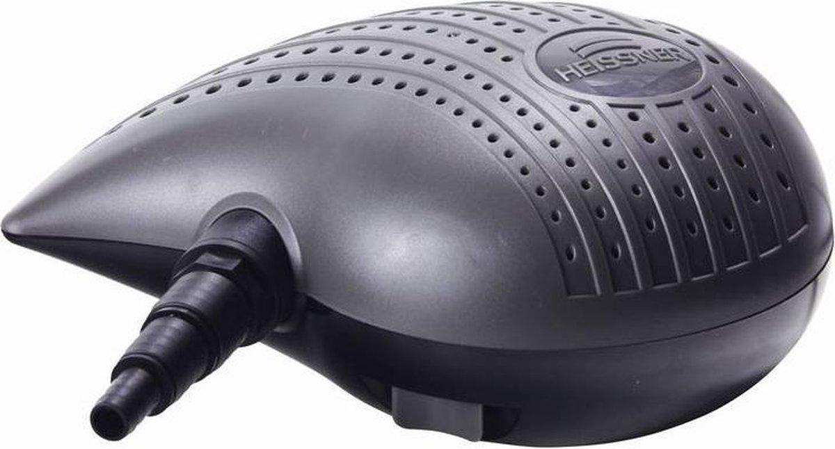 Heissner Vijverfilter- En Beeklooppomp 2200 L/u Grijs/zwart