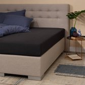Hoeslaken - Zwart - 120x200 cm - Jersey Stretch - Presence