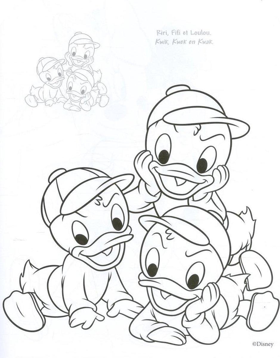 Bol Com Disney Sticker Color Donald Duck
