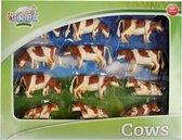 Kids Globe Farming Bonte Koeien