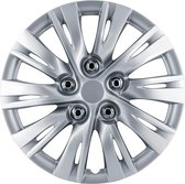 Autostyle Wieldoppen 15 inch Ohio Zilver - ABS