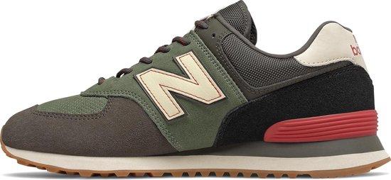 bol.com | New Balance ML574 D Heren Sneakers - Green - Maat 42.5
