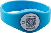 SOS-armbandje blauw