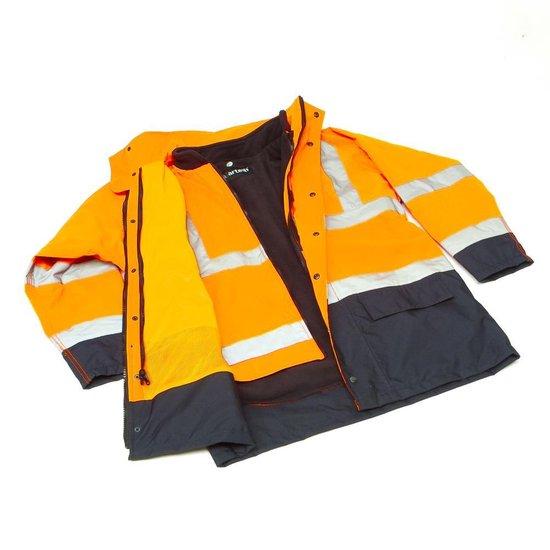 Artelli Parka signalisatie oranje/navy mt XL