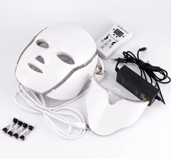 Full Beauty Lichttherapie Led Gezichtsmasker Photon Led Mask