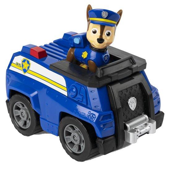 Afbeelding van PAW Patrol, Politieauto met Chase-verzamelfiguurtje speelgoed