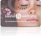 Nationale Sauna & Wellness cadeaukaart 150,-