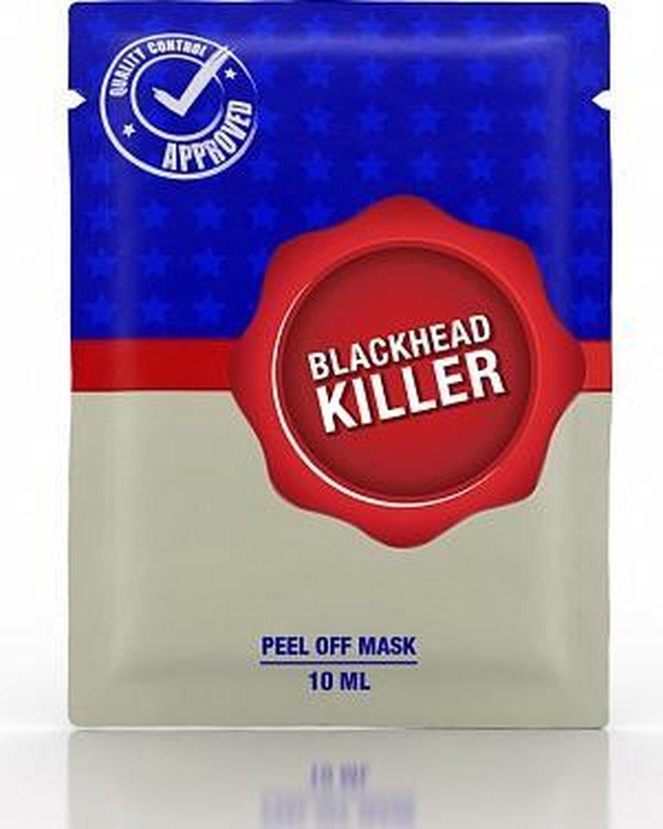Black head killer peel off mask 10ml sachet - Geluk