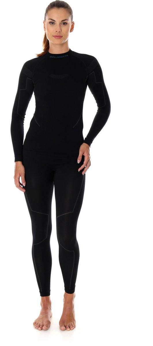 Dames Thermo Set - Thermokleding - met Nilit® Innergy-Zwart-L