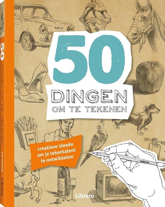 50 Dingen om te tekenen - Ed Tadem |