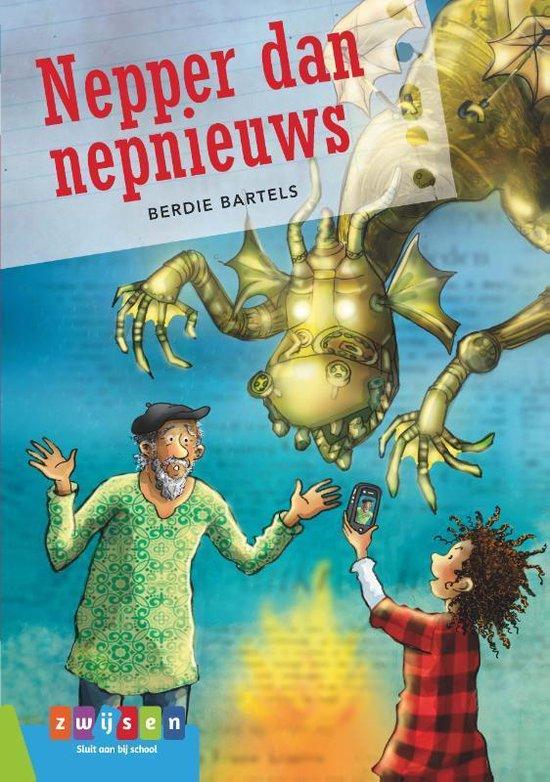 Leesserie Estafette - Nepper dan nepnieuws - Berdie Bartels | Readingchampions.org.uk