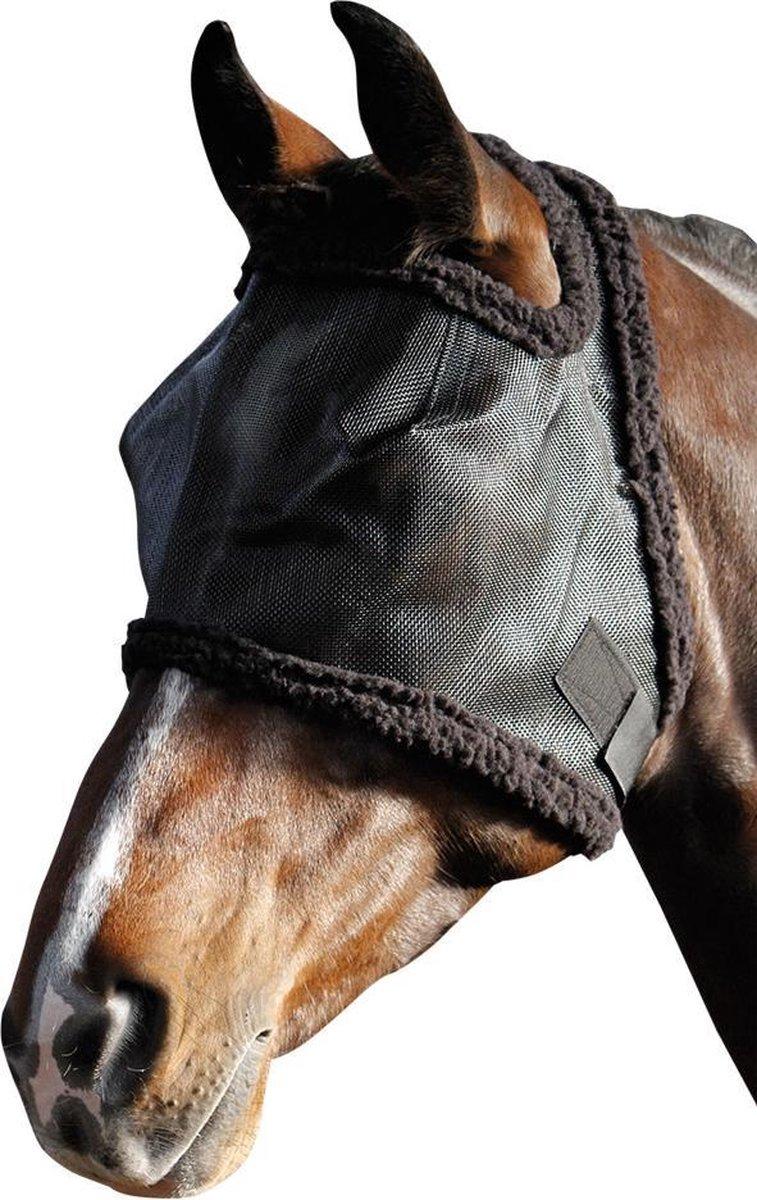 Harrys Horse Vliegenmasker - Zwart - Zonder Oren - Large