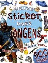 Kinderboeken Icob - Reuzestickerboek: Jongens. 5+