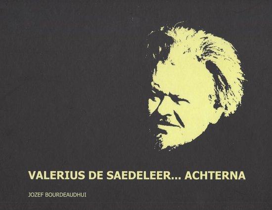 Valerius de saedeleer achterna - Jozef Bourdeaudhui |